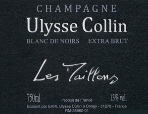 "CHAMPAGNE ULYSSE COLLIN ""LES MAILLONS"""