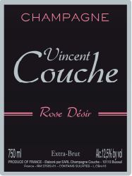 CHAMPAGNE VINCENT COUCHE ROSE DESIR