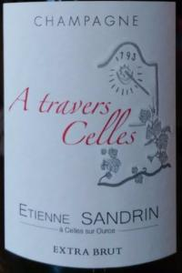 CHAMPAGNE ETIENNE SANDRIN A TRAVERS CELLES