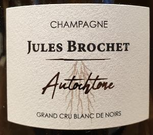 CHAMPAGNE JULES BROCHET AUTOCHTONE