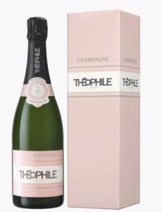 CHAMPAGNE THEOPHILE BRUT ROSE
