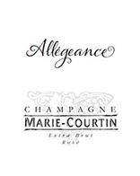 CHAMPAGNE MARIE COURTIN ALLEGEANCE 2012